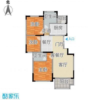 佳兆业玖珑山130.00㎡10号楼东西边套户型3室2厅2卫