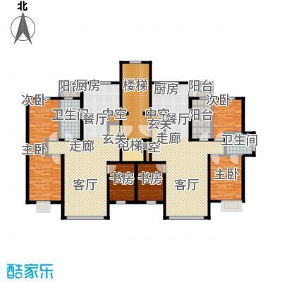 未来城三期户型6室2卫