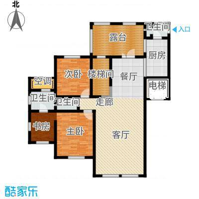 水韵豪庭水韵豪庭标准层A户型图3室2厅2卫户型3室2厅2卫