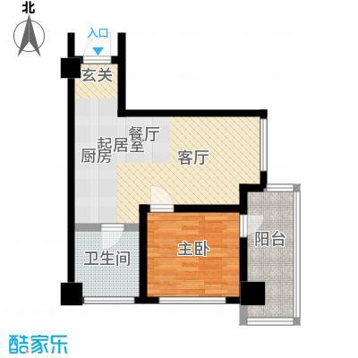 江户城户型1室1卫