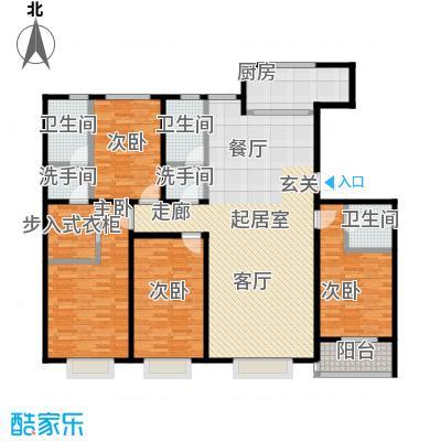 紫阙台4室2厅2卫户型4室2厅2卫CC