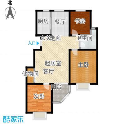 紫阙台3室2厅1卫户型3室2厅1卫CC
