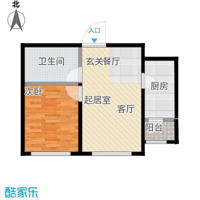 博恩御山水44.94㎡小高层户型10室