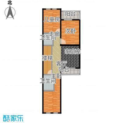 博恩御山水290.00㎡联排二层户型10室