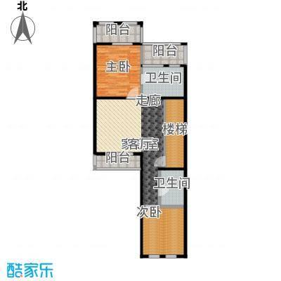 博恩御山水240.00㎡联排二层户型10室