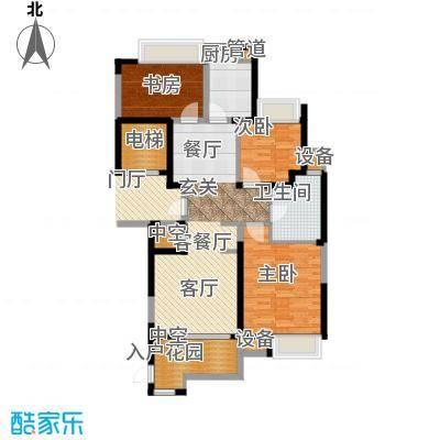 百乐广场99.53㎡G3户型2室2厅1卫