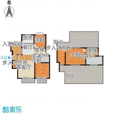 南光・洛龙湾壹号163.68㎡洋房F户型4室2厅2卫