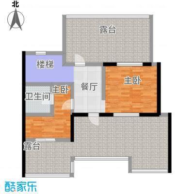 恒景・溪山壹�洋房户型图户型