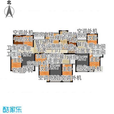 丽景福苑2号楼一单元户型