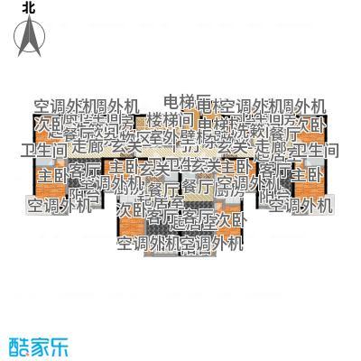 丽景福苑1号楼户型