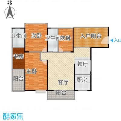 海景1号131.41㎡户型3室2厅2卫