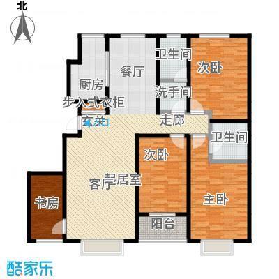 紫阙台3室2厅2卫148.04平米户型3室2厅2卫CC