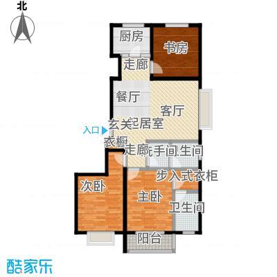 紫阙台3室2厅2卫109.33平米户型3室2厅2卫CC