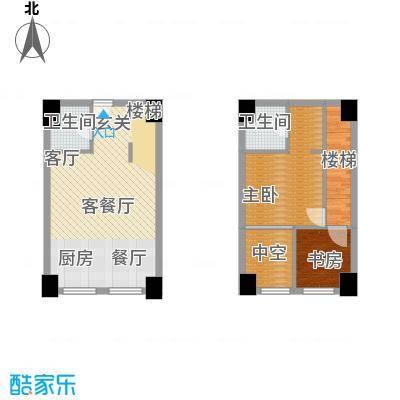 桃源水榭・叠萃户型2室1厅2卫