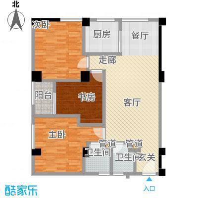 东山康城LL户型3室2卫1厨