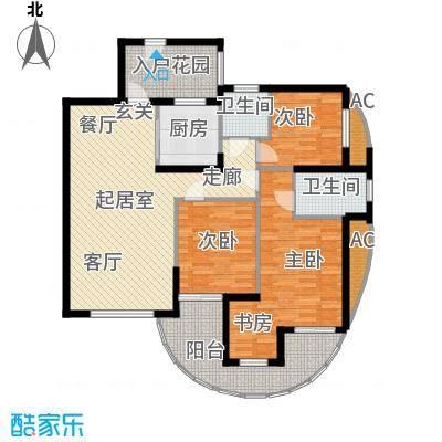 东都国际QQ户型3室2卫1厨