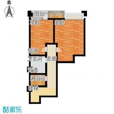 龙湖滟澜香颂户型2室1卫