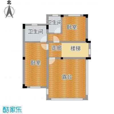 尚荟海岸82.40㎡a2三层户型2卫