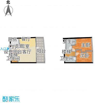 PURE33璞岸C型户型2室3卫