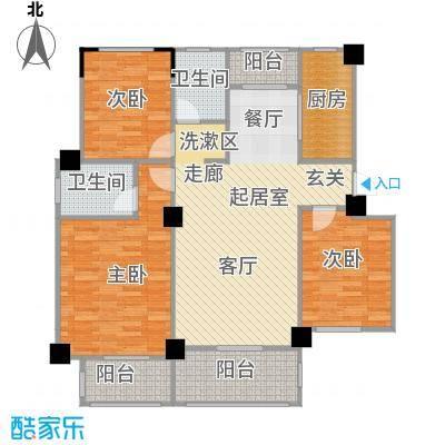 阳光下的红屋顶108.50㎡I户型多层花园洋房户型3室2厅2卫