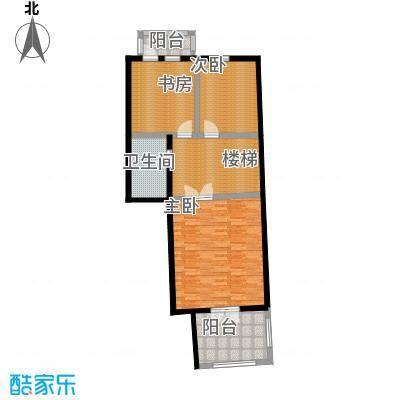 未来城三期-T户型3室1卫
