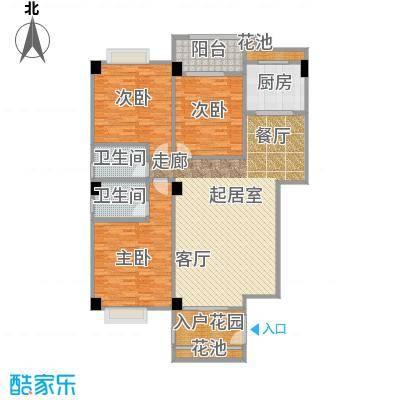 华港财富港湾148.93㎡1#楼A1单元 约148.93㎡户型3室2厅2卫