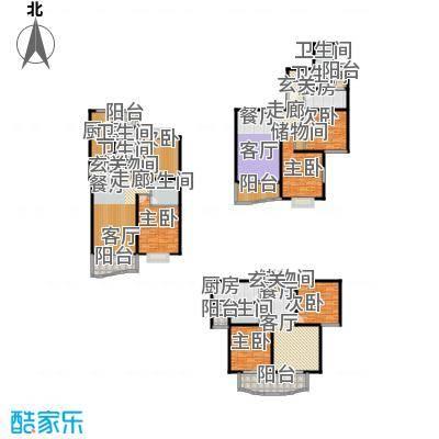宝虹新苑92.00㎡房型: 二房; 面积段: 92 -107 平方米;户型