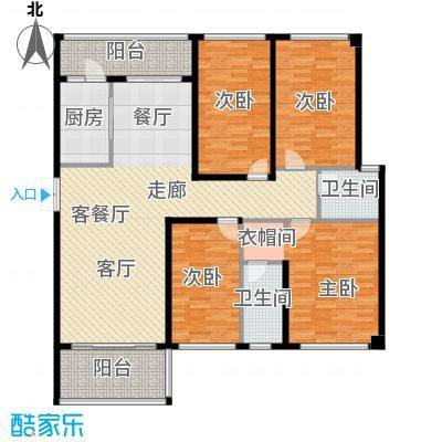 光明大第140.00㎡6栋A1+A2型-7栋C1+C2型140-142平米奇数层户型4室2厅2卫