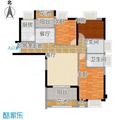 诚盛御庭117.00㎡4号楼C户型4室2厅2卫