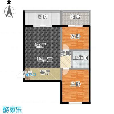 御龙苑101.15㎡御龙苑3号楼2户型2室2厅1卫1厨 101.15平米户型2室2厅1卫