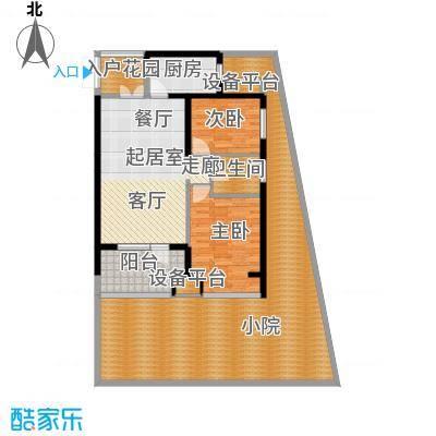 永泰枕流GOLF公寓90.87㎡一期6-7号门标准层Cy户型2室2厅1卫1厨户型2室2厅1卫