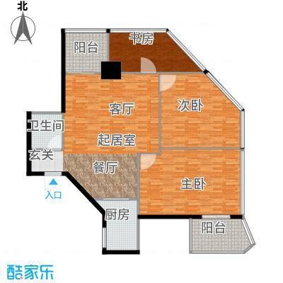 中华・钱塘航空大厦140.00㎡1幢C10-32层(23层避难层除外)户型2室2厅2卫