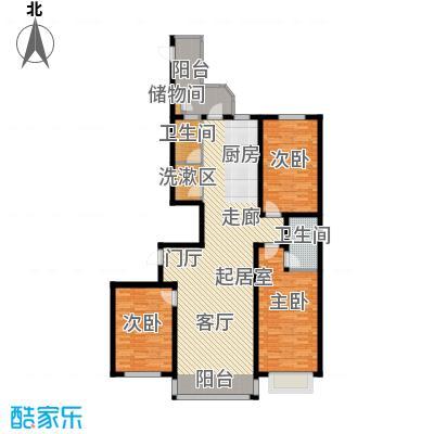 银河湾139.19㎡银河湾B1户型图户型3室2厅1卫