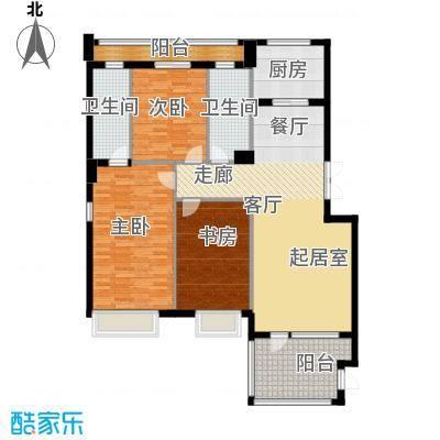 商博东城印象131.18㎡3号楼E户型10室