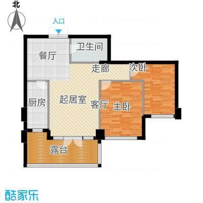 商博东城印象89.23㎡2号楼D户型10室
