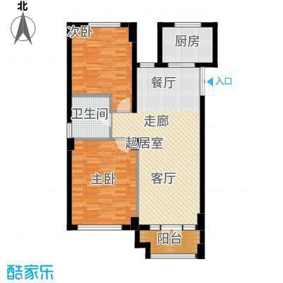 商博东城印象88.90㎡2号楼C户型10室
