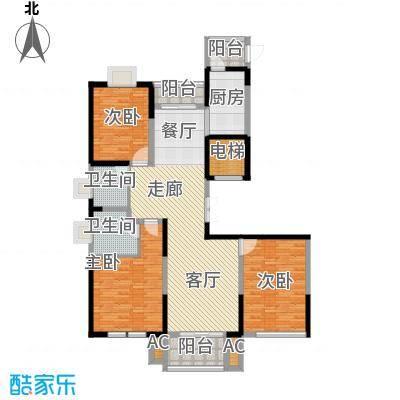 九龙官邸 碧水湾169.86㎡户型图户型3室2厅2卫