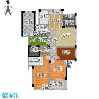 佳园137.04㎡高层GC1户型3室2厅2卫