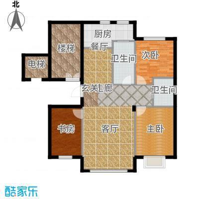 阳光世纪城118.00㎡户型图户型3室2厅2卫