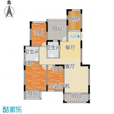 汇置尚都140.00㎡洋房AP-3F户型3室2厅2卫