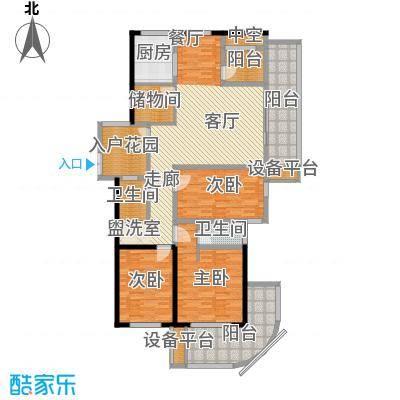 骏明国际A户型 143.8户型3室2厅2卫