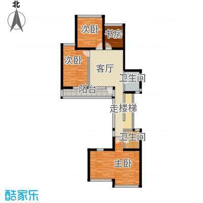上饮合院138.00㎡上饮合院4号楼地上二层3室1厅2卫户型