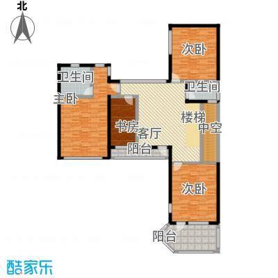 上饮合院162.00㎡上饮合院12号楼地上二层3室-T