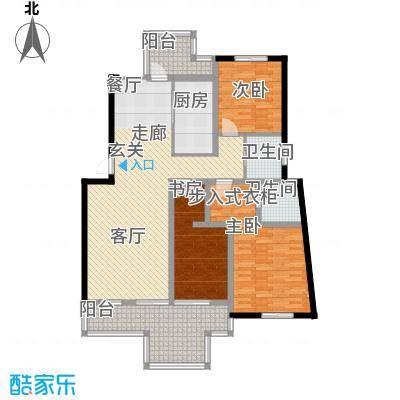 蝶景湾御江山户型2室1厅2卫1厨