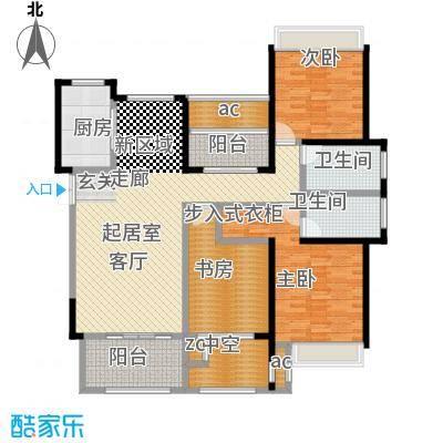 尚景花苑143.00㎡F户型3室2厅2卫