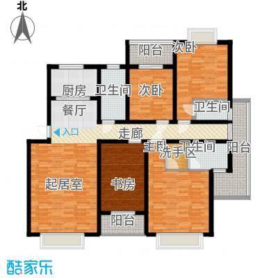 8#F型:4房2厅3卫
