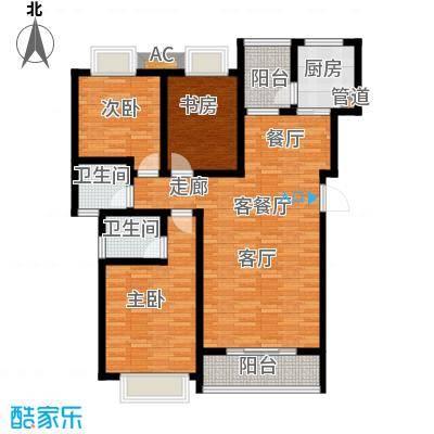 御景东方115.71㎡2室2厅