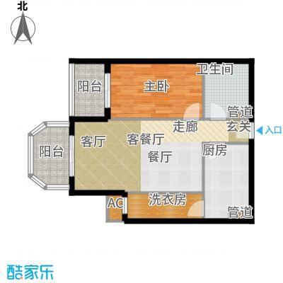 碧玉家园一期一房一厅一卫-67.14平方米、72.83平方米户型
