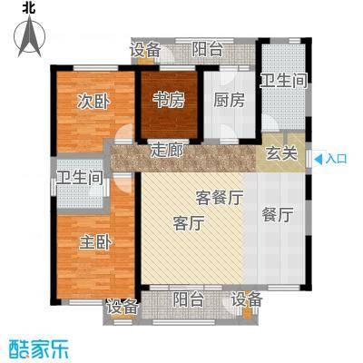 意境兰庭143.00㎡C3户型3室2厅2卫