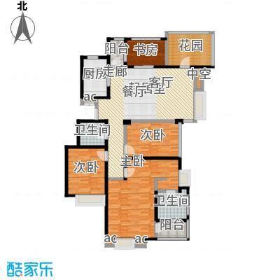国贸仁皇142.00㎡C3户型(3层)户型4室2厅2卫